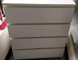 4 drawer IKEA MALM