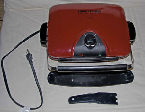 George Foreman Griller Model GRP90WGR CAN