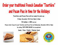"""Tradional French Canadian """"Tourtière"""""""