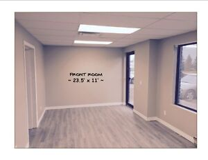 commerical unit for rent available April