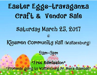 《Easter Craft & Vendor Sale - March 25th》