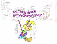 Cleaning/snow removal and more