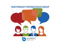 PAID PRODUCT TESTING / FOCUS GROUP