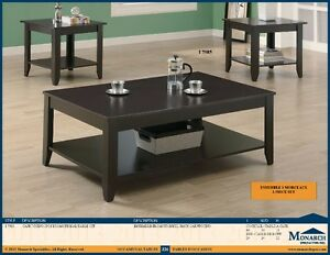 ★LORD SELKIRK FURNITURE-NEW COFFEE AND 2 END TABLES - $189.00* ★