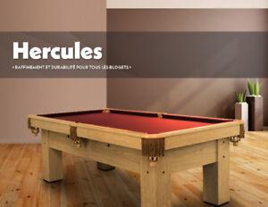 Table Canada billard 4X8 neuve Hercules pool table.