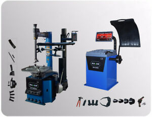Tire Changer Machine & Wheel Balancer  for Low-Profile Tires