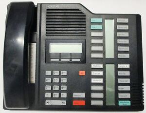 Used Nortel Meridian Norstar M7324 Phone NT8B40AB-03, Black Stratford Kitchener Area image 1