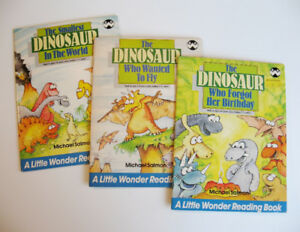 3 Vintage Books from the Dinosaur Days Series by Michael Salmon