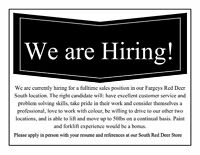 FT Paint & Decorating Sales & Customer Service Position