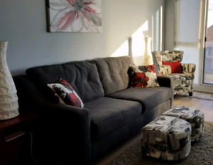 Ashley furniture queen pullout couch