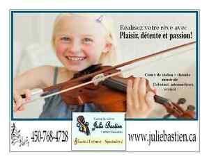 Cours de violon Saint-Hyacinthe Québec image 1