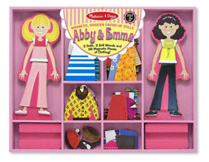 Abby & Emma Magnetic Dress-Up by Melissa and Doug