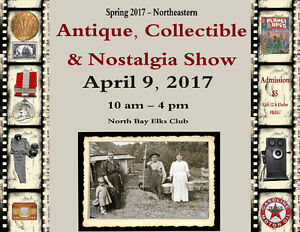 Northeastern Antiques& Collectibles Show APRIL 9 2017