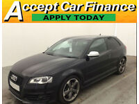 Audi S3 2.0T FSI quattro S Tronic Black Edition FINANCE OFFER FROM £109 PER WEEK