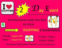 I LOVE SHOPPING 2 Day EVENT