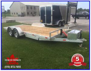 """2018  8'6"""" x 20' All Aluminum Tild Deck, 10,000 lb capacity 5 Yr"""