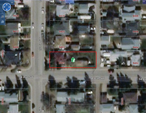 Corner lot in Serwood (152 st and 94 Ave) 50' x 148'