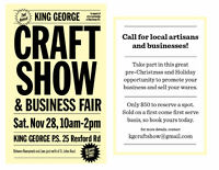 Vendors Wanted! King George Craft Show and Business Fair