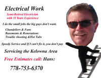 Electrician - Semi Retired