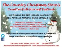 THE COUNTRY CHRISTMAS STORE IS OPENING SOON!