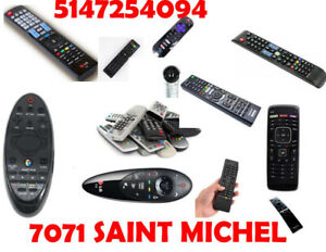 MANETTE REMOTE CONTROL TELECOMMANDE TV SMART BARRE DE SON MAG