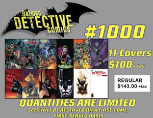 Detective Comics #1000 complete variant sets