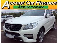 Mercedes-Benz ML250 Sport FROM £114 PER WEEK!
