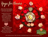 Yoga for Lovers - Hosted by John & Michelle