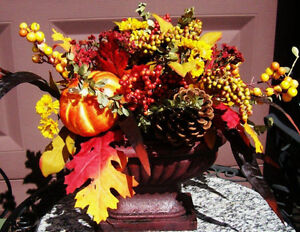 Fall Arrangement Use in or Outdoor
