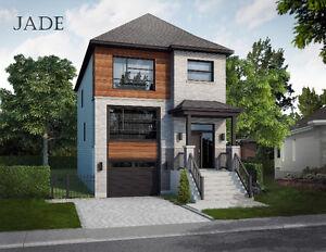 Maison 2 étages neuve à vendre Chomedey par Maisons Charplexe