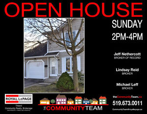 Open House! Sun 2-4pm