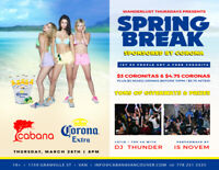 Spring Break Party (Sponsored by Corona)