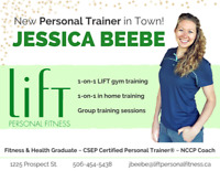 Personal Trainer - Fredericton/Oromocto