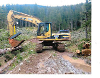 Owner Operator with Cat 330 Excavator for hire