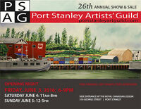 Port Stanley Art Guild Annual Show and Sale