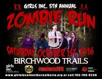 5th Annual Zombie Run! United Way Fundraiser