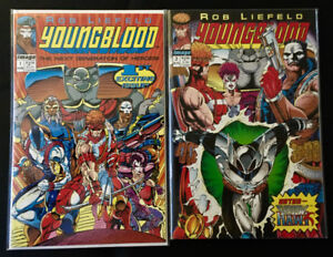 Youngblood by Rob Liefeld  #1 - 4