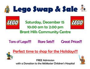 Lego Swap & Sale - Saturday, Dec 15 from 10 - 2