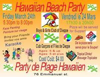 Hawaiin Beach Party
