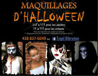 ★★★ Maquillages d'Halloween ★★★