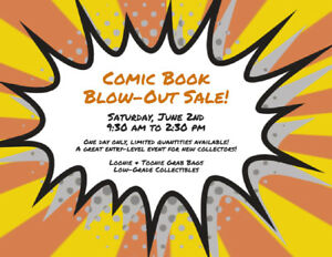 COMIC BOOKS BLOW OUT !!!