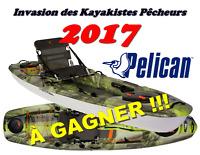 Invasion de Kayakistes Pêcheurs 2017 (5e édition)