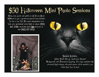 Halloween Mini Portrait Sessions!