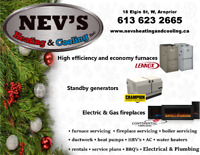 Nev's Heating and Cooling, Arnprior