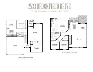 New 4 bedroom home with 1 bedroom legal suite!
