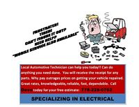 LOCAL MECHANIC ALL WORK GUARANTEED MOBILE SERVICE AVAILABLE