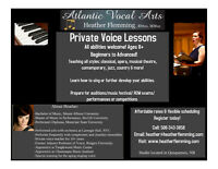 Atlantic Vocal Arts-Private Voice Lessons
