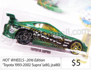 - =  HOT WHEELS 'Toyota 1993-2002 SUPRA' (a80, jza80)= -