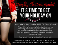 2nd Annual Naughty Christmas Market - 7 Dec 2019