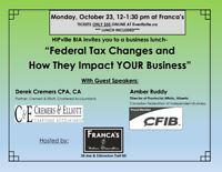 Federal Tax Changes and How They Impact YOUR Business